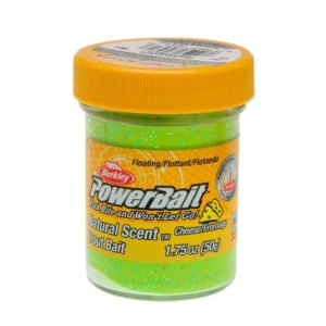 Berkley - power bait cheese chartreuse