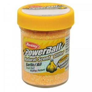 Berkley - power bait glitter garlic yellow