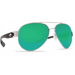Costa South Point 580P Silver Palladium/Green Mirror