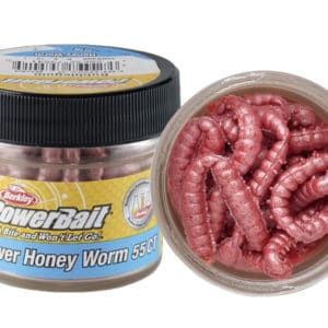 PowerBait Honey Worms -Garlic Bubblegum