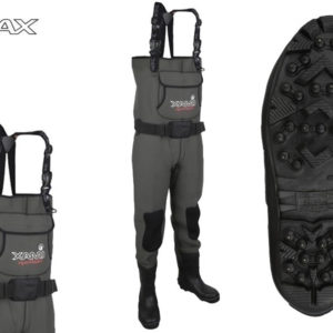 IMAX Challenge Neoprene Chest Waders - Cleated sole/Studs-48/49