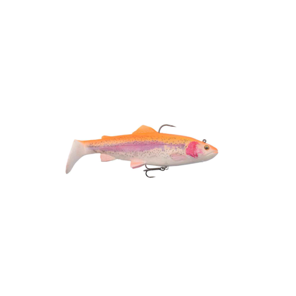 Savage Gear 4d Trout Rattle Shad 12,5cm - 35gr Golden Albino - Softbait