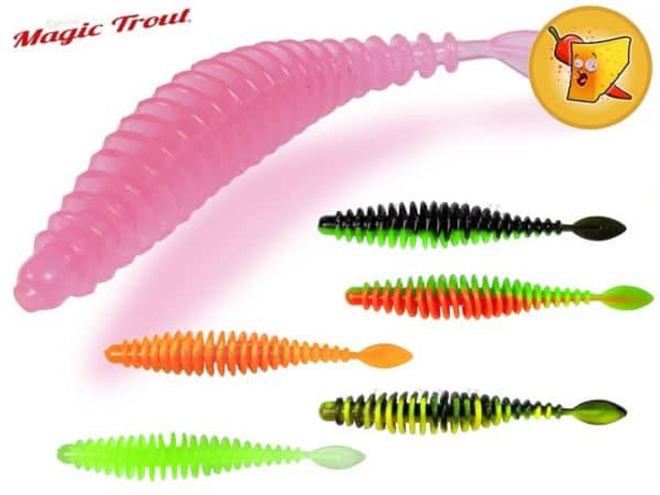 Quantum Magic Trout T-Worm P-Tail Chilli-Cheese